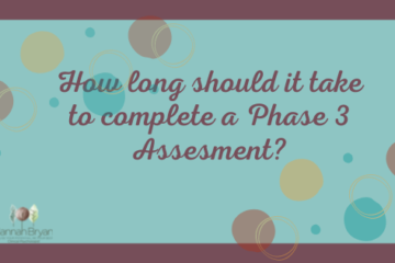 How long should it take to Complete a phase 3 Assessment?